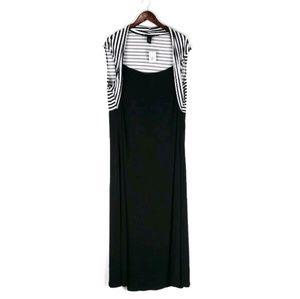 NWT Ashley Stewart stretch maxi dress 22/24